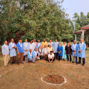 8th Dec 19 Dedication of Land to Guru Stupa
