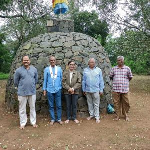 Dh. Bodhidharma and Dh. Prassanratna