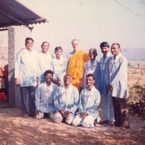 Five Ananda with Bhante