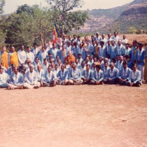 Bhante in Convention At Saddhammapradip Retreat center
