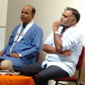 Dh. Nagaketu and Dh. Maitriveer Nagarjun