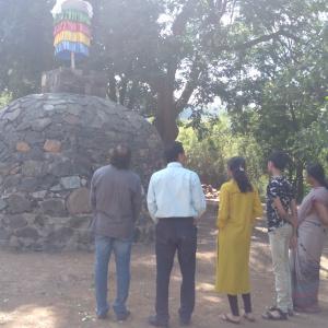Near Stupa