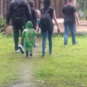 Rainy season visitors