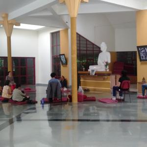 Meditation in Shrine
