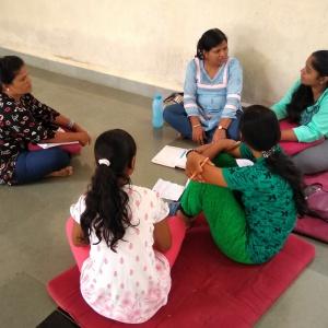 Group Led by Dhni Vajradharini