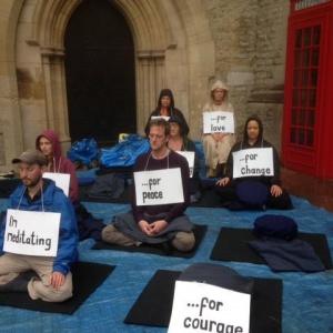 Street Meditation in Oxford