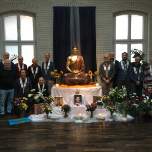 Shrine at the Berlin Buddhist Gate