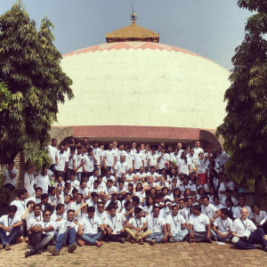A group shot from the International Buddhist Youth Convention in India 2016
