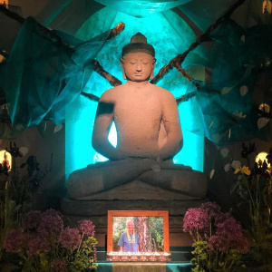 Adhisthana Shrine for Buddha Day 2018