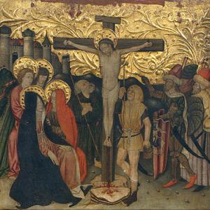 'Calvary' by Jaume Ferrer, c 1450