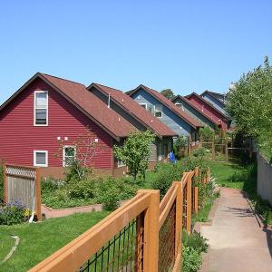 Duwamish Co-housing, Seattle, Washington. Photo credit: Joe Mabel.