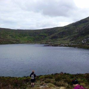 Photo of Lough Ouler (or the Heart-shaped lake) in Wicklow.  Photo: Adam Dinan