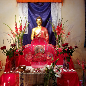 Padmasambhava Day shrine