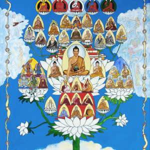 The Triratna Buddhist Order Refuge Tree - with Dr Ambedkar and Dhammaloka included. Image: Saddharaja