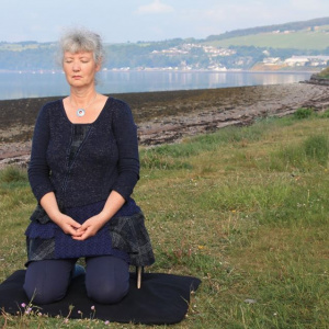 Gerry Beasley is the organiser of a 24 hour meditation in the Scottish Highlands as part of Buddhist Action Month