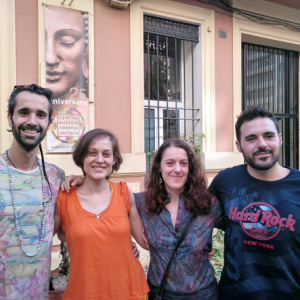 Nestor, Estela, Elena and Rube from Valencia