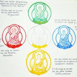 Five Buddha Mandala