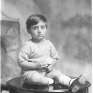 Sangharakshita as a boy
