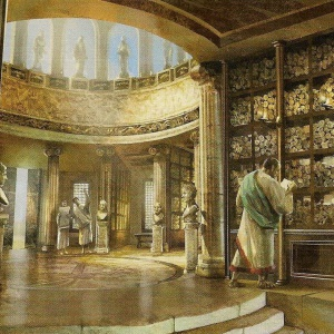 Library at Alexandria (Old)