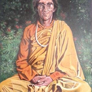 Aloka painting of Bhante