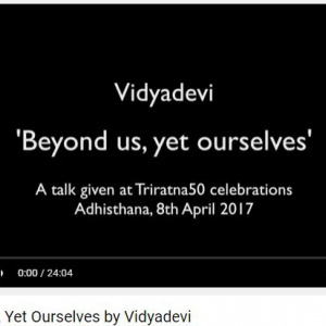 Vidyadevi's overview of the Complete Works