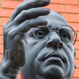 Ambedkar statue, Wolverhampton Buddha Vihara
