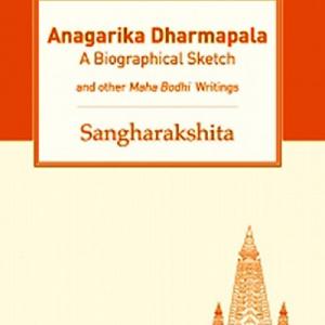 Anagarika Dharmapala book cover