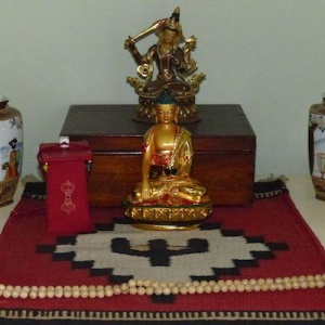 Sangharakshita's shrine