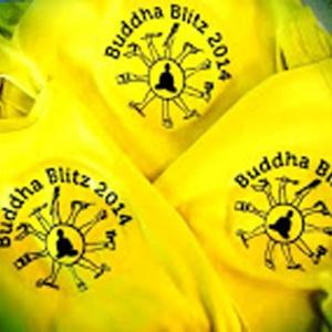 Buddha Blitz T shirts