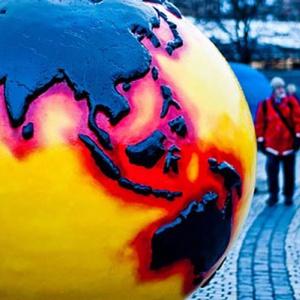 Globe at COP15