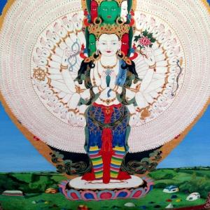 Avalokiteshvara tankha