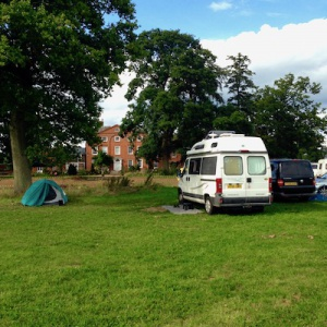 Camping and caravanning at Adhisthana