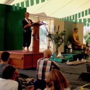 Dhammamegha's talk