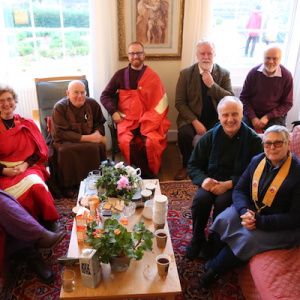 Buddhist guests from other traditions