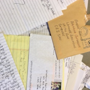 Letters from prisoners
