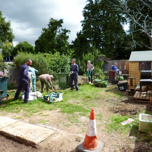 Restoring the garden