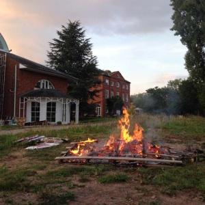 Closing bonfire