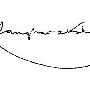 Sangharakshita's signature