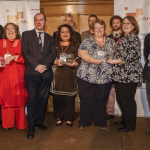 All the award winners, of many faiths