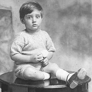 Sangharakshita as a toddler