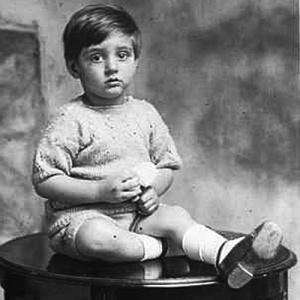 Sangharakshita (Dennis) aged 3