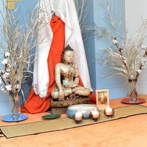 Buddha at the old premises