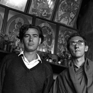 Terry Delamare, Sangharakshita, L.M. Lodge, Kalimpong, January 1967