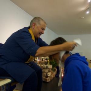 Hadayasiri receives the kesa