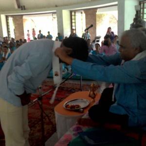 Receiving the kesa