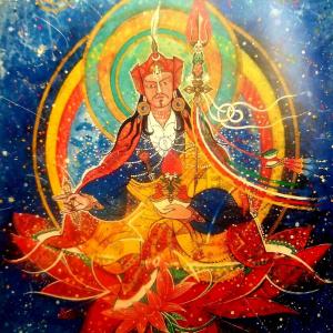 Padmasambhava by Aloka