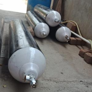 Oxygen Cylinders arranged
