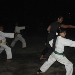 Jennifer joint while kata demonstration