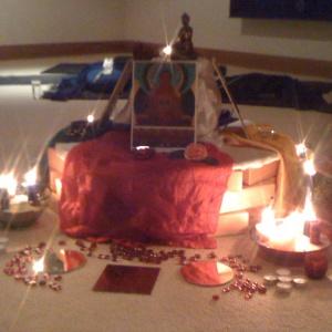 mandala shrine