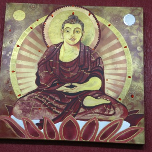 Amitabha at the Liverpool centre